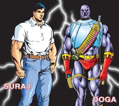 Whome you like most?  SURAJ or DOGA?