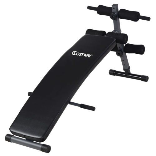 This Is Our New Arc-Shaped Sit Up Bench, Which Makes Work More Effective, As Well As Adds Strength And Tone To The Entire Abdominal Section. With Ample Padd