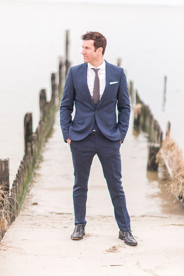Classic Southern Groom for a Coastal Wedding