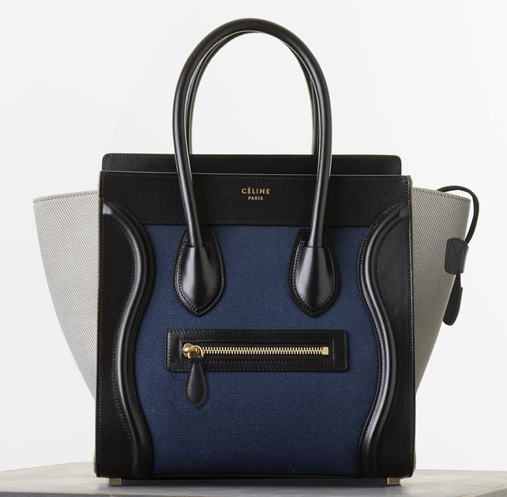 Celine-Micro-Luggage-Tote / A new classic! #thestylepunch #celine #bag #fashion #totebag #luggage #blog www.thestylepunch.com