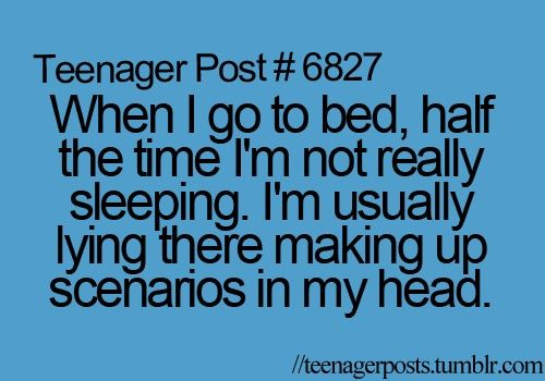 teenager post | Teenager Post | We Heart It... Haha so true!