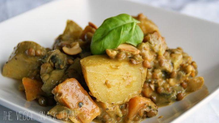The Veggie Snack Shack: Kruidige aardappel curry