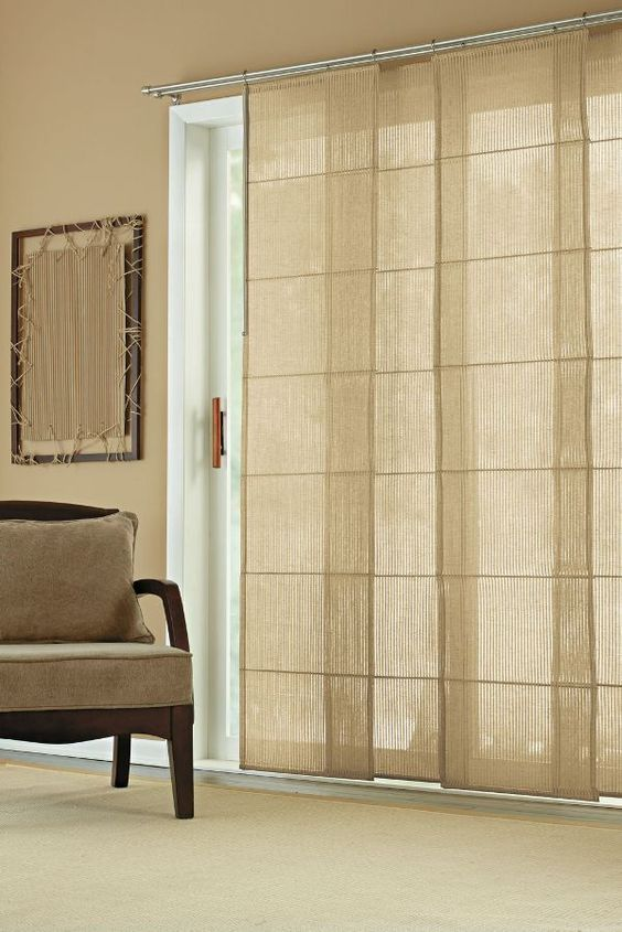 25 best sliding door treatment ideas on pinterest - Curtains for sliding glass doors in bedroom ...