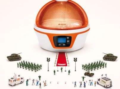 Fagor Brandt Spoutnik microwave oven (!)