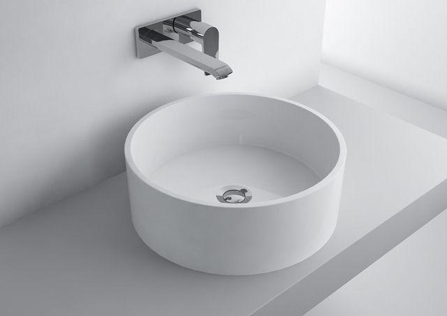 washbasin OLGA ROUND 426C  #marmite #marmiteSA #washbasin #lavabo #waschtisch #simpledesign #schlichtesdesign #designépuré #bathroom #bagno #baignoire #badezimmer #bathroomideas #salleDeBainDesign #DesignPerIlBagno #DesignIdeen #designideas