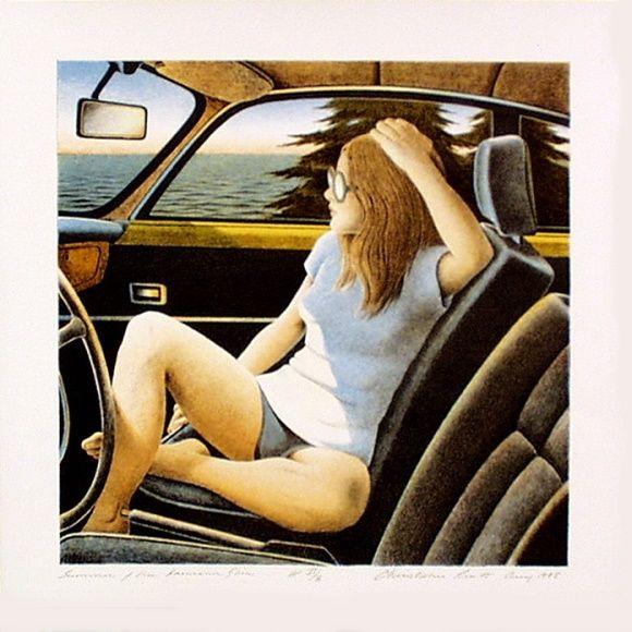 Summer of the Karmann Ghia - Christopher Pratt