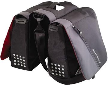 Bontrager City Double Panniers - Village Cycle Center - Chicago's Bike Shop - The Bike Experts
