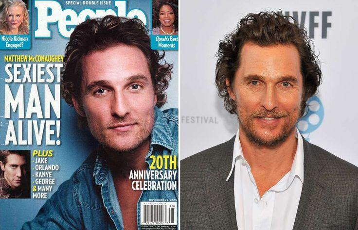 Matthew McConaughey (2005, 2016) - People; Steve Jennings/WireImage/Getty Images