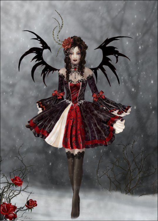 Red Gothic Image detail for -goth princess - Gothic Photo (24444047) - Fanpop fanclubs
