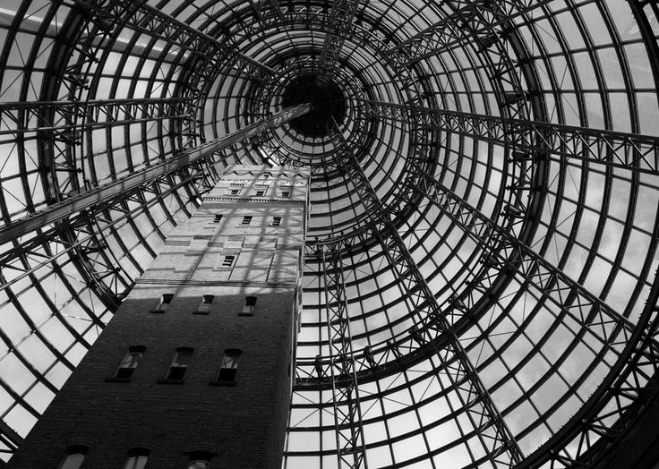Melbourne Central Station by Greg McCullough on 500px  #photography #architecture #melbourne #blackandwhite