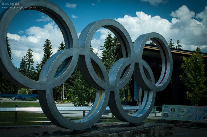 Olympische Ringe in Whistler