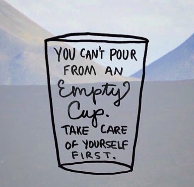 Self care is important                                                                                                                                                      More