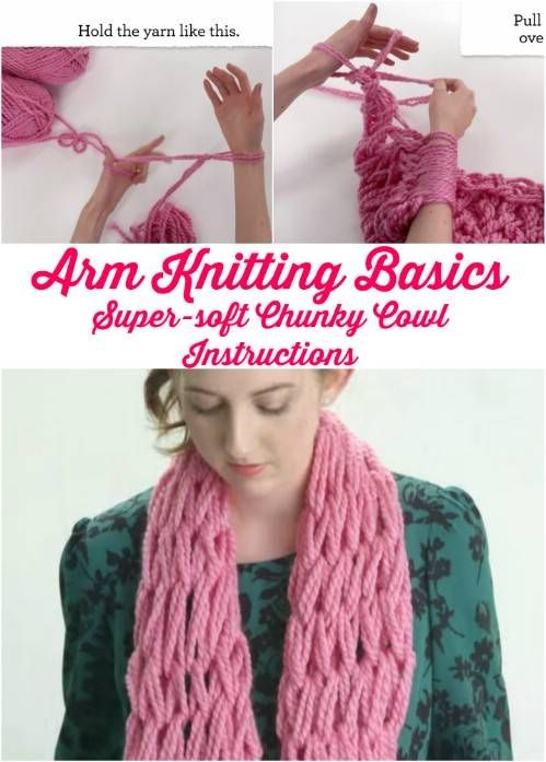 Arm Knitting for Beginners