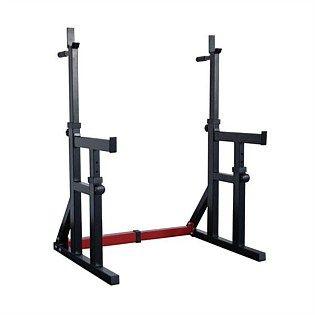 IP Squat Rack/Dip Stand w/ Spotters
