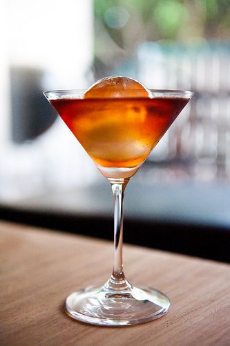 Spiced Manhattan Recipe