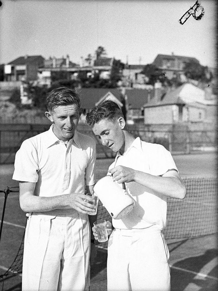 tennis at White City, 1937