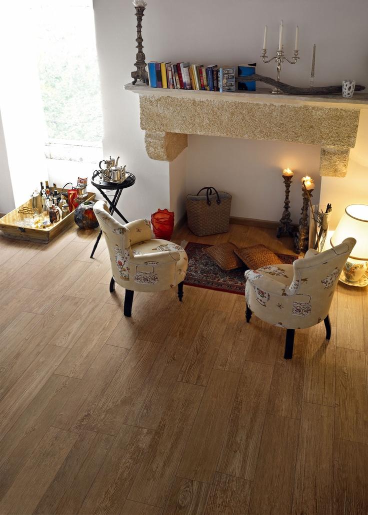 Wood Essence Bark timber look floor tiles