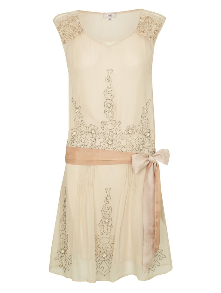 Short 20s Flapper Style dress - from Hoss Intropia [I'd prob pair with Cowgirl boots lol]