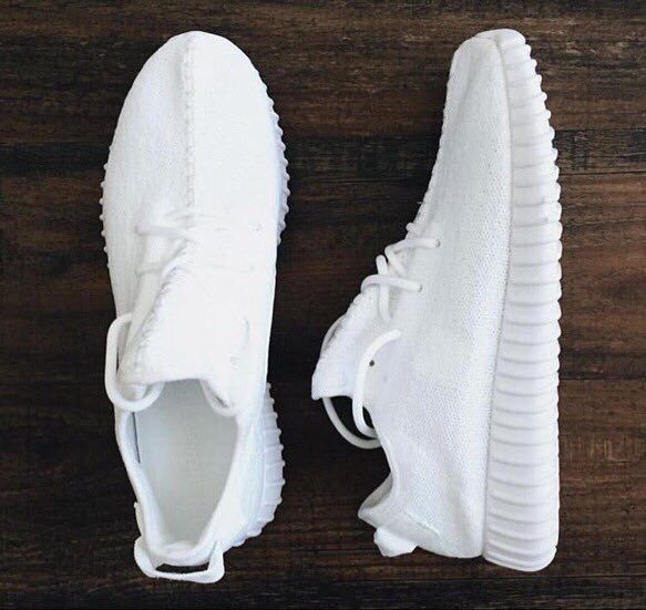Yep.....I usually don't do all White Sneakers because they're hard to keep clean, but Yep I really need these joints!!!!