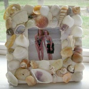 Sealed with Seashells Frame | AllFreeHolidayCrafts.com