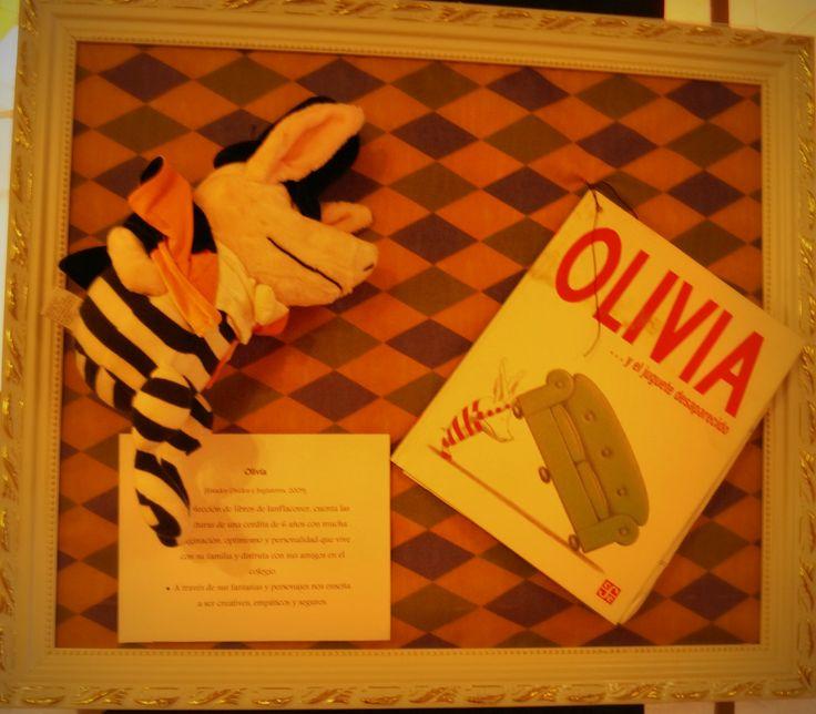 Las maravillosas aventuras y mundos de Olivia también fueron parte de esta Expo Cuentos Infantiles.