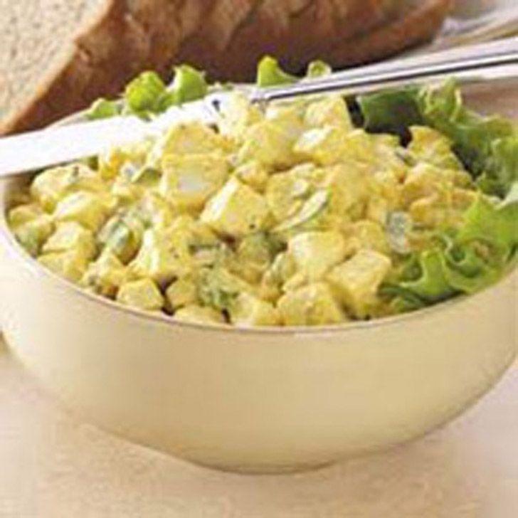 Αυγοσαλάτα με πατάτες
