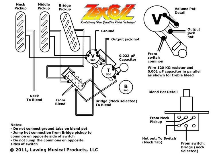 Strat Blender Pot Wiring / Series-Parallel blend mod