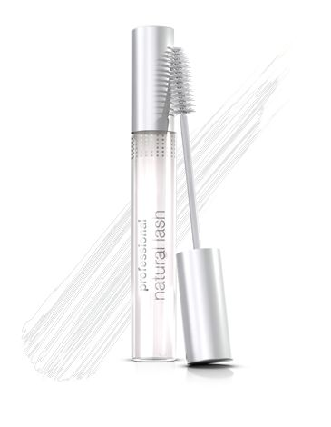 Use clear mascara to tame eyebrows and create natural-looking, feather-light lashes. Professional Natural Lash Clear Mascara's gel formula is hypoallergenic.