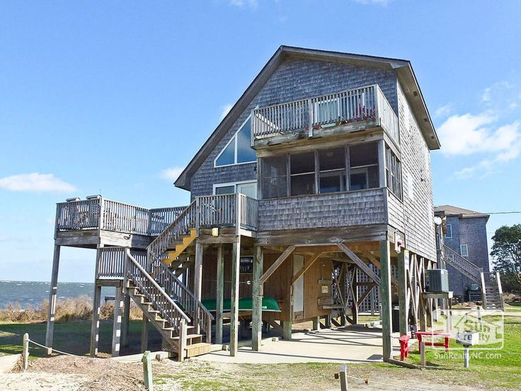30 best images about hatteras nc vacation rentals on for Hatteras cabins rentals