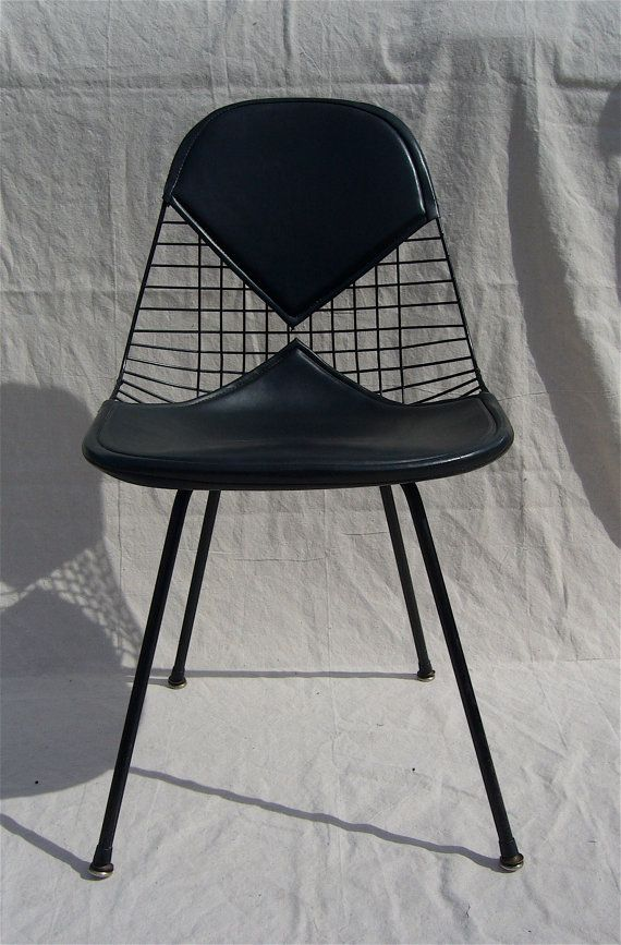 Eames Herman Miller DKX Black Bikini Wire Chair by GentryAntiques, $385.00