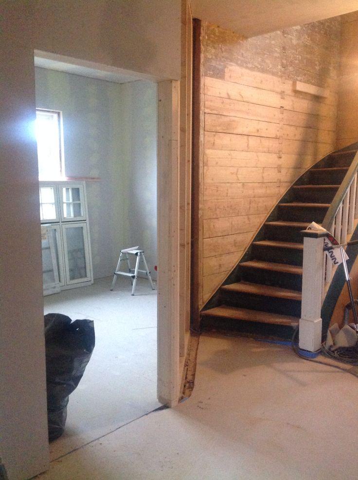 Hallway -wood - stairway