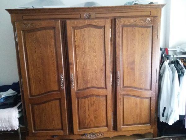 Armoire En Bois Massif Armoire Penderie Bois Massif Occasion En France Offres Septembre Armoire Home Decor Closet