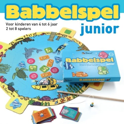 Babbelspel Junior  Geschikt voor groep : 1 t/m 3