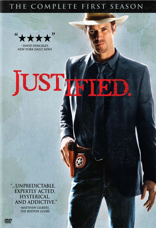 Centred around this sexy southern US Marshall Raylan Givens. Lots of redneck criminal activity. Love it! And I'm kinda obsessed with Raylan too. #Netflix