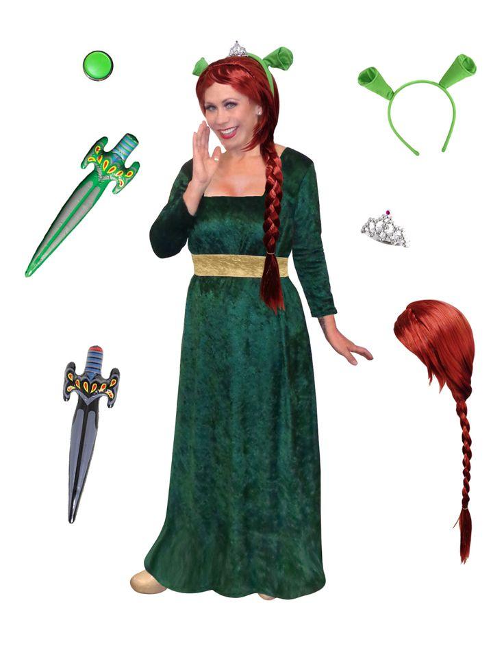 SALE! Plus Size Princess Fiona Costume from Shrek! Plus Size And Supersize Halloween Costume + Add Accessories! Sizes S-XL & Plus Size 1x 2x 3x 4x Supersize 5x 6x 7x 8x 9x