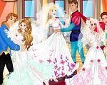 Em Princesas Disney Festa de Casamento, as Princesas Disney vão se casar, este é um momento muito especial em suas vidas. Após o casamento vai ter a festa e você precisa ajuda-las a se vestir como lindas princesas. Divirta-se com as Princesas Disney!