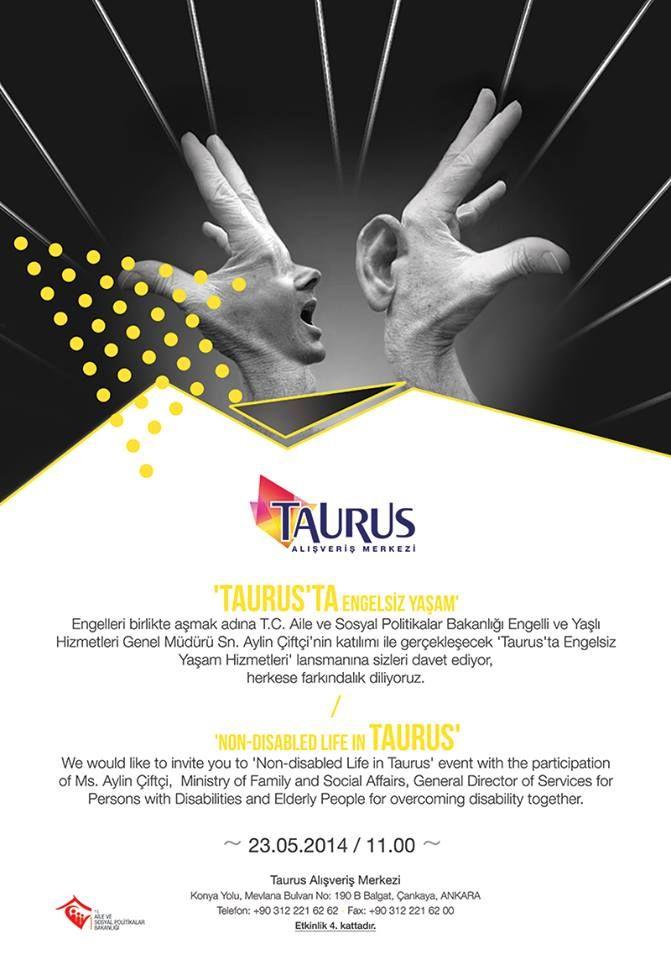 ''Taurus'ta engelsiz yaşam hizmetleri'' lansmanı #engellerikaldır #engelsizyaşam
