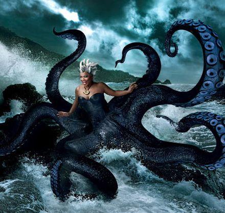 Queen Latifah as Ursula the Sea Witch / Annie Leibovitz / Disney Dream Portraits