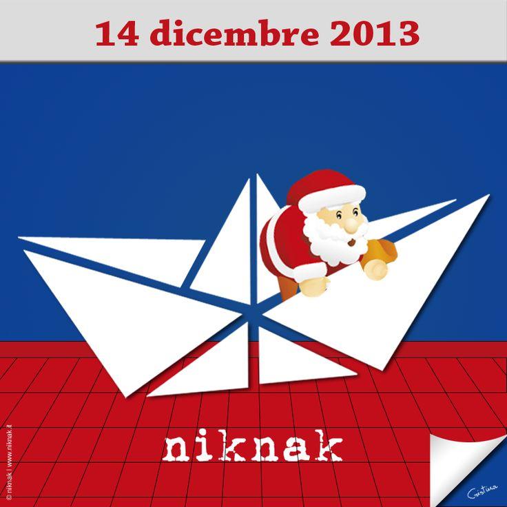 Christmas illustration by niknak | Santa Claus