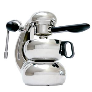 Based on the original Italian Atomic Coffee Machine. If you were just going on looks the Stovetop Otto Expresso maker would have to make sexy coffee