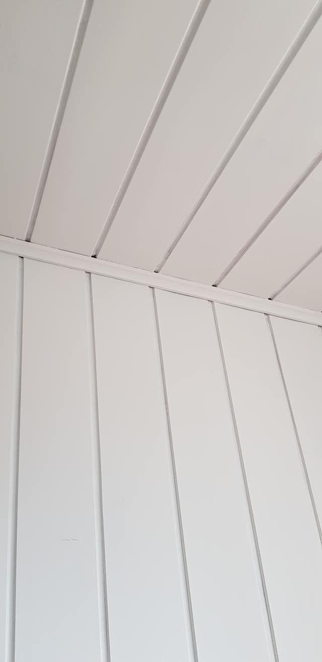 Holzdecke Streichen Mit Kreidefarbe Misspompadour In 2020 Wooden Ceilings Home Decor Paintings Home Decor Pictures