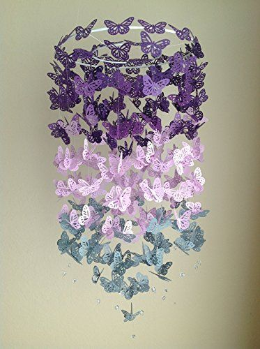 You will be surprised to find out just how easy this Paper Butterfly mobile Tutorial is and the results are nothing short of breathtaking!