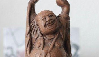 De lachende boeddha / The smiling buddha