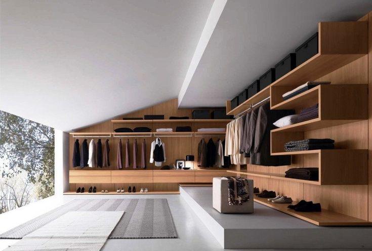 Dark Brown Finish Oak Cabinets Kleiderschrank Begehbarer Kleiderschrank …