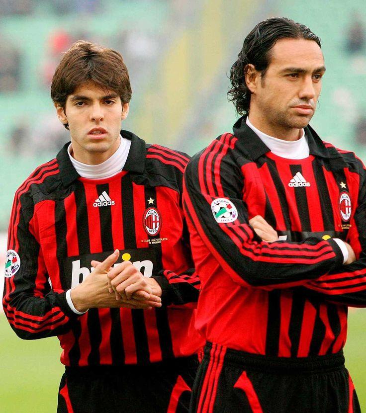 Kaka & Alessandro Nesta - AC Milan la septima champions y per molt temps l'ultima
