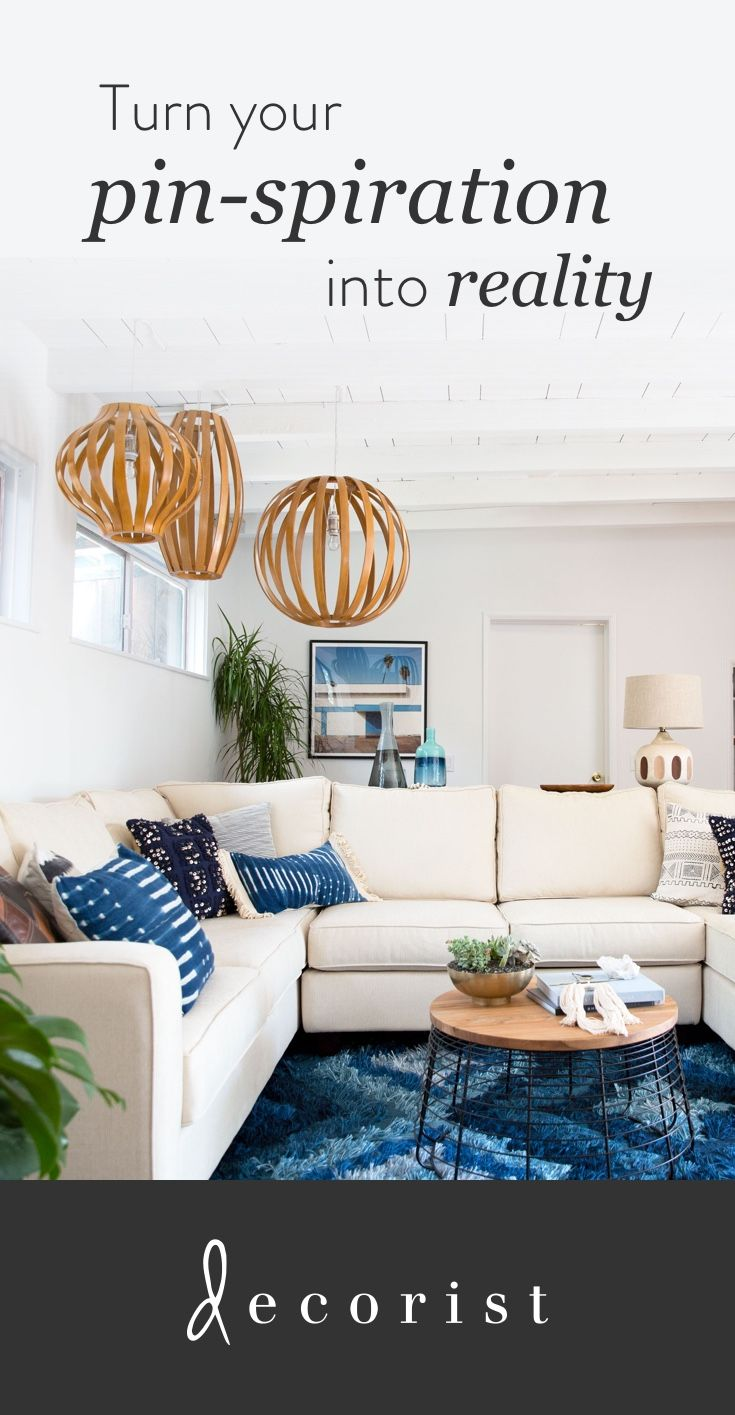 Is your home as beautiful as your Pinterest boards? Do you have tons of home decor pins but don't know how to turn your ideas into reality? @decorist can help. Design your room in your style and budget right from your Pinterest page http://www.decorist.com/