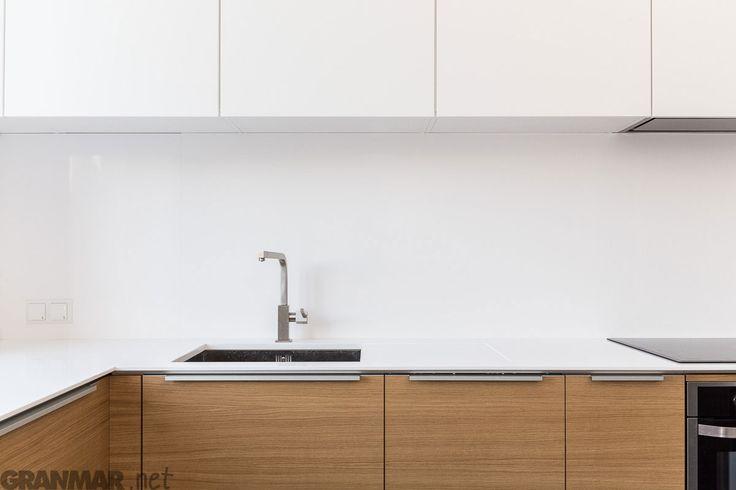 Blat kuchenny z konglomeratu kwarcowego Vega #kuchnia #kitchentop #cooking #gotowanie