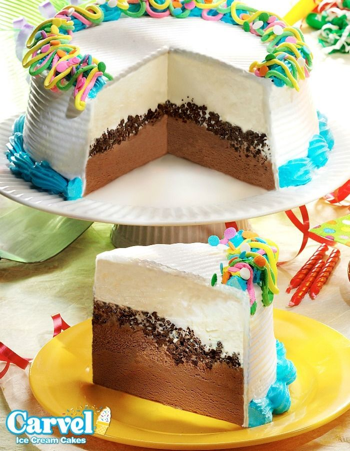 Calories In A Piece Of Carvel Ice Cream Cake