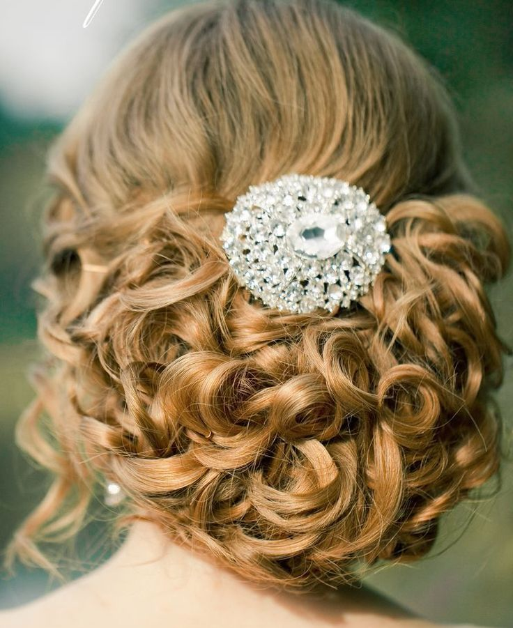 21 Classy and Elegant Wedding Hairstyles Featured hairstyle: Elstile;