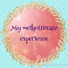 I know I've been updating you throughout my ectopic pregnancybut I've decided towrite a summary blog post about mymethotrexate experience asa reference for anyone who might be going…